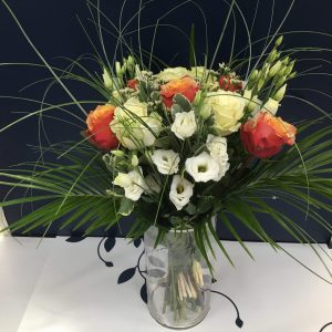 Une bouquet élégant de longue fleurs