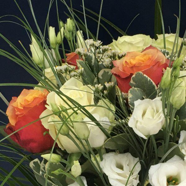 un bouquet élégant de fleurs longues tiges