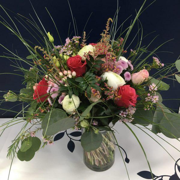 Bouquet de fleurs champêtre