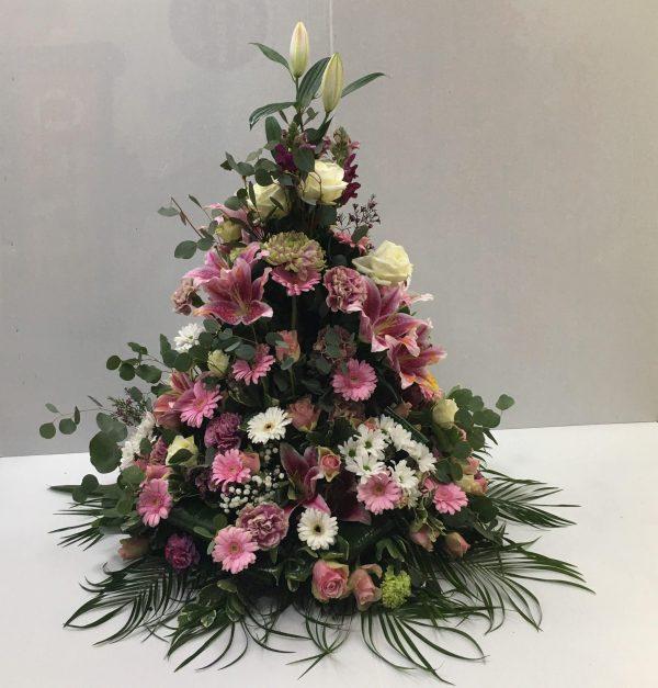 coupe conique rose